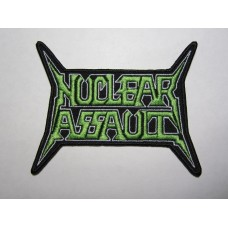 NUCLEAR ASSAULT patch embroidered