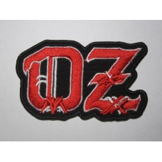 OZ patch embroidered