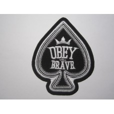 OBEY THE BRAVE patch embroidered