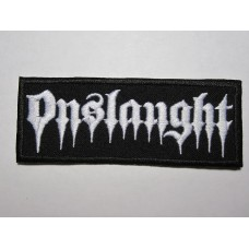 ONSLAUGHT patch embroidered