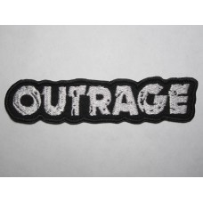 OUTRAGE patch embroidered