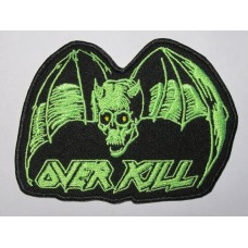 OVERKILL patch embroidered
