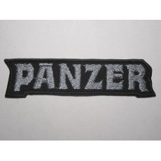 PANZER patch embroidered