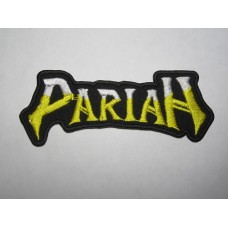 PARIAH patch embroidered