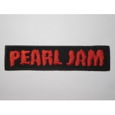 PEARL JAM patch embroidered