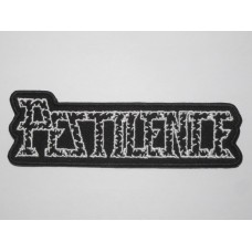 PESTILENCE patch embroidered