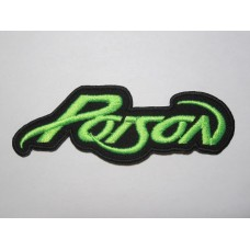 POISON patch embroidered