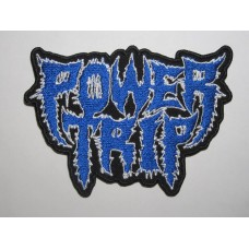 POWER TRIP patch embroidered