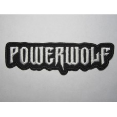 POWERWOLF patch embroidered