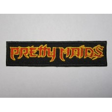 PRETTY MAIDS patch embroidered