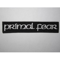 PRIMAL FEAR patch embroidered