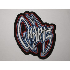 QUARTZ patch embroidered