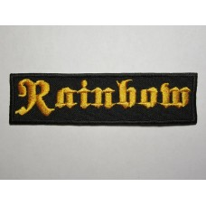 RAINBOW patch embroidered