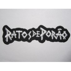 RATOS DE PORAO patch embroidered
