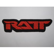 RATT patch embroidered