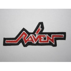 RAVEN patch embroidered