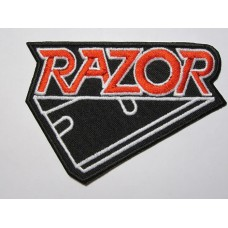 RAZOR patch embroidered