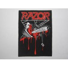 RAZOR patch embroidered Violent Restitution