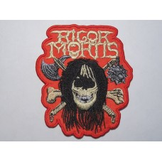 RIGOR MORTIS patch embroidered