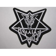 RUNNING WILD patch embroidered