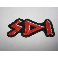 S.D.I. patch embroidered sdi