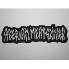SMG Siberian Meat Grinder patch embroidered