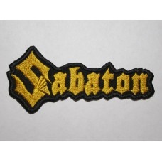 SABATON patch embroidered