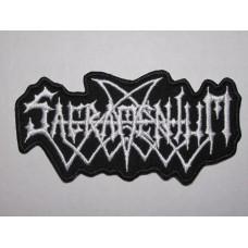 SACRAMENTUM patch embroidered