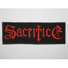 SACRIFICE patch embroidered
