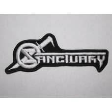 SANCTUARY patch embroidered