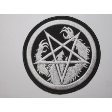 SATANIC WARMASTER patch embroidered