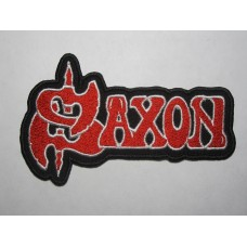 SAXON patch embroidered