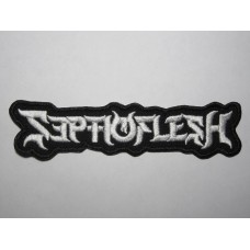 SEPTICFLESH patch embroidered