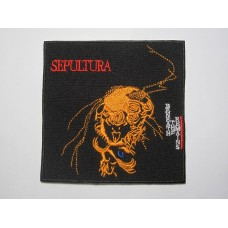 SEPULTURA patch embroidered Beneath The Remains