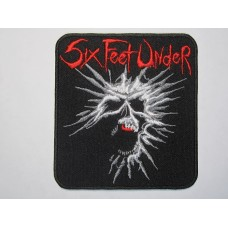 SIX FEET UNDER patch embroidered
