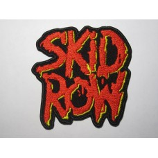 SKID ROW patch embroidered