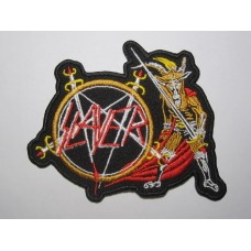 SLAYER patch embroidered Show No Mercy