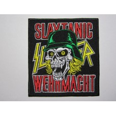 SLAYTANIC WEHRMACHT patch embroidered Slayer