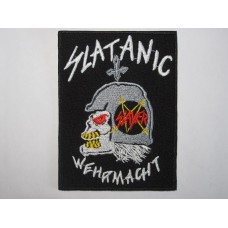 SLATANIC WEHRMACHT patch embroidered Slayer