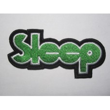SLEEP patch embroidered