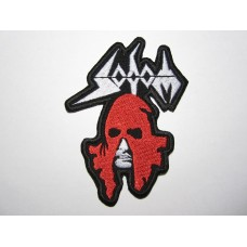 SODOM patch embroidered