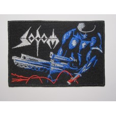 SODOM patch embroidered Tapping The Vein