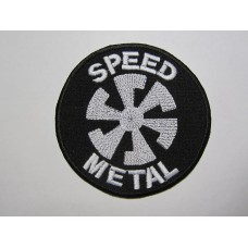SPEED METAL patch embroidered