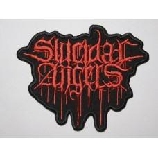 SUICIDAL ANGELS patch embroidered