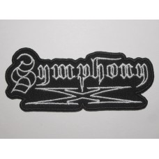 SYMPHONY X patch embroidered