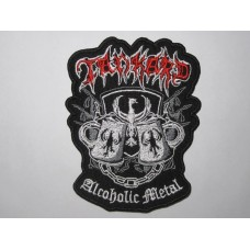 TANKARD patch embroidered Alcoholic Metal