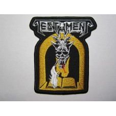 TESTAMENT patch embroidered Legacy