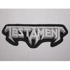 TESTAMENT patch embroidered