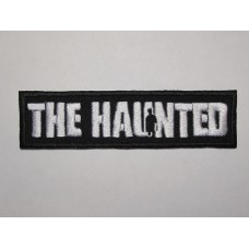 The HAUNTED patch embroidered