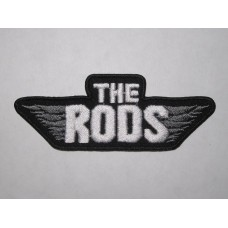 The RODS patch embroidered